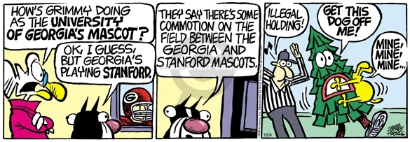 Comic Strip Mike Peters  Mother Goose and Grimm 2008-11-04 university