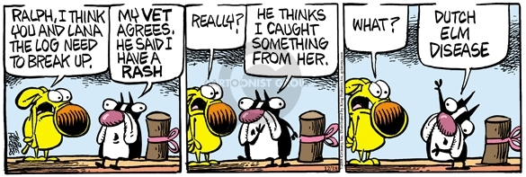 Comic Strip Mike Peters  Mother Goose and Grimm 2008-12-18 tree
