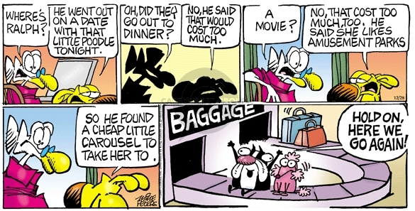 Comic Strip Mike Peters  Mother Goose and Grimm 2008-12-28 movie