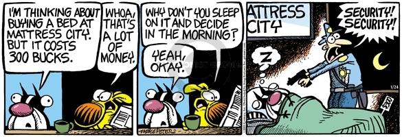 Comic Strip Mike Peters  Mother Goose and Grimm 2009-01-24 yeah