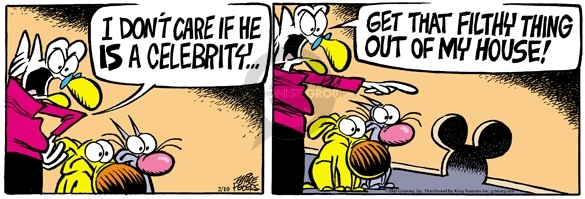 Comic Strip Mike Peters  Mother Goose and Grimm 2009-02-10 dirty