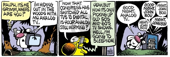Comic Strip Mike Peters  Mother Goose and Grimm 2009-02-18 programming