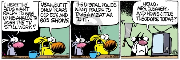 Comic Strip Mike Peters  Mother Goose and Grimm 2009-02-19 programming