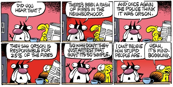 Comic Strip Mike Peters  Mother Goose and Grimm 2009-03-15 rash