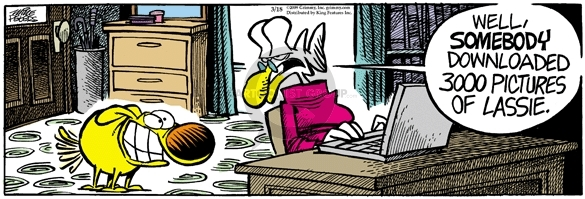 Comic Strip Mike Peters  Mother Goose and Grimm 2009-03-18 online photograph