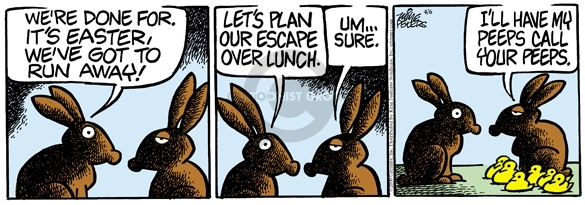 Comic Strip Mike Peters  Mother Goose and Grimm 2009-04-06 lunch