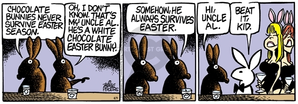 Comic Strip Mike Peters  Mother Goose and Grimm 2009-04-09 Easter