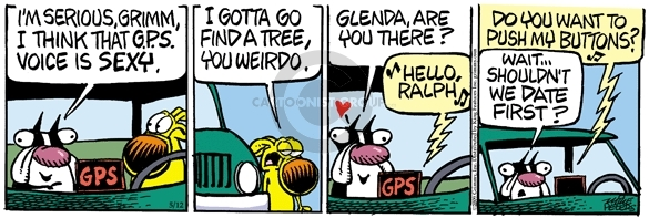 Comic Strip Mike Peters  Mother Goose and Grimm 2009-05-12 tree