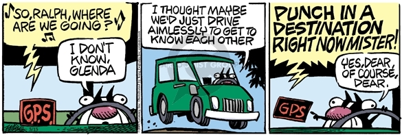 Comic Strip Mike Peters  Mother Goose and Grimm 2009-05-15 date
