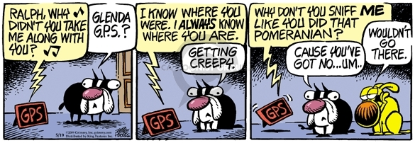 Comic Strip Mike Peters  Mother Goose and Grimm 2009-05-19 always
