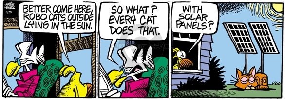 Comic Strip Mike Peters  Mother Goose and Grimm 2009-05-28 robotics
