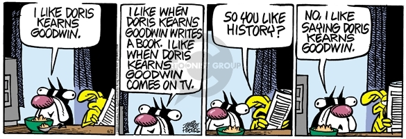 Comic Strip Mike Peters  Mother Goose and Grimm 2009-06-02 writing