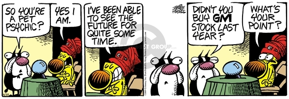 Comic Strip Mike Peters  Mother Goose and Grimm 2009-06-10 investment