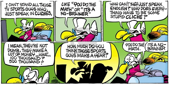 Comic Strip Mike Peters  Mother Goose and Grimm 2009-06-28 television news