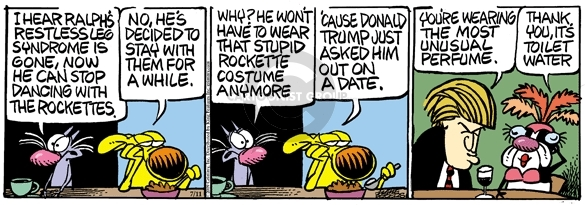 Comic Strip Mike Peters  Mother Goose and Grimm 2009-07-11 unusual