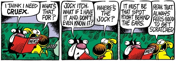 Comic Strip Mike Peters  Mother Goose and Grimm 2009-07-21 prescription