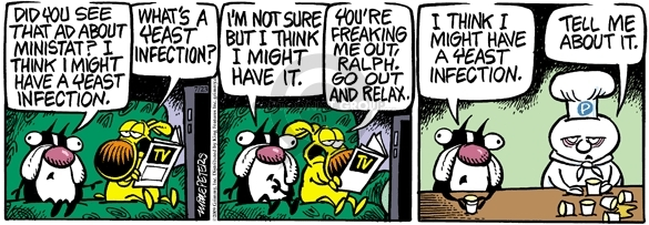 Comic Strip Mike Peters  Mother Goose and Grimm 2009-07-23 prescription