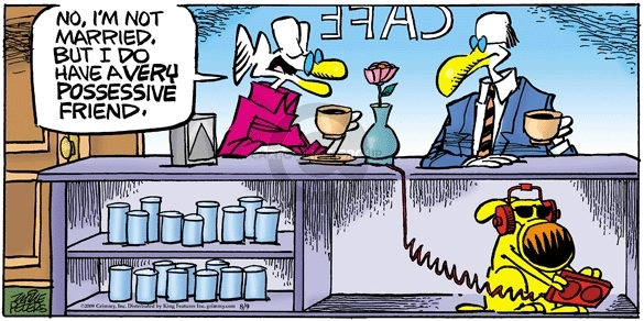 Comic Strip Mike Peters  Mother Goose and Grimm 2009-08-09 listen