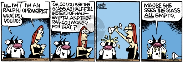 Comic Strip Mike Peters  Mother Goose and Grimm 2009-08-10 half