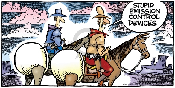 Comic Strip Mike Peters  Mother Goose and Grimm 2009-08-16 horse