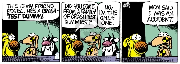 Comic Strip Mike Peters  Mother Goose and Grimm 2009-08-18 mom