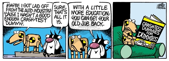 Cartoonist Mike Peters  Mother Goose and Grimm 2009-08-22 unemployment