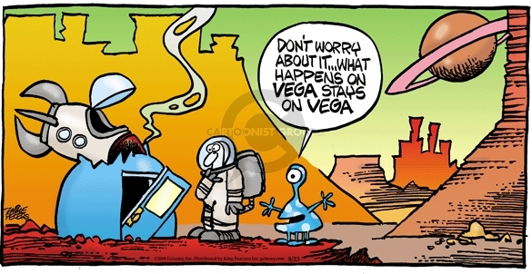 Comic Strip Mike Peters  Mother Goose and Grimm 2009-08-23 traveler
