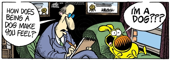 Comic Strip Mike Peters  Mother Goose and Grimm 2009-08-29 psychiatry