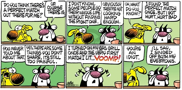 Comic Strip Mike Peters  Mother Goose and Grimm 2009-09-06 tune out