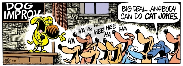 Comic Strip Mike Peters  Mother Goose and Grimm 2009-09-23 humor
