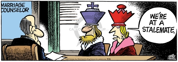 Cartoonist Mike Peters  Mother Goose and Grimm 2009-09-26 counsel