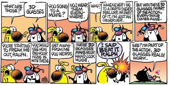 Comic Strip Mike Peters  Mother Goose and Grimm 2009-09-27 movie