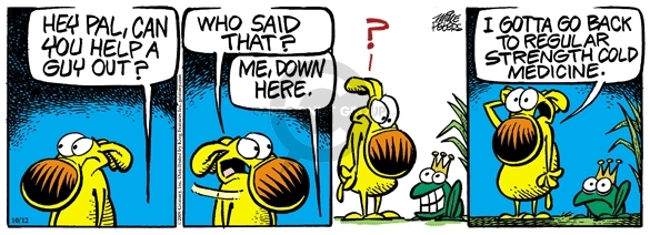 Comic Strip Mike Peters  Mother Goose and Grimm 2009-10-12 regular