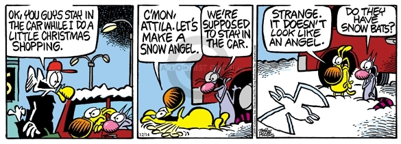 Comic Strip Mike Peters  Mother Goose and Grimm 2009-12-14 make