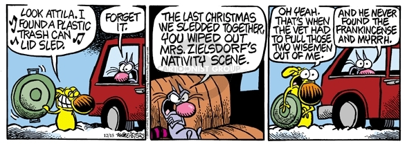 Comic Strip Mike Peters  Mother Goose and Grimm 2009-12-15 decoration