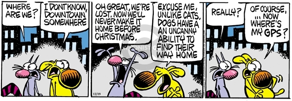 Comic Strip Mike Peters  Mother Goose and Grimm 2009-12-19 direction