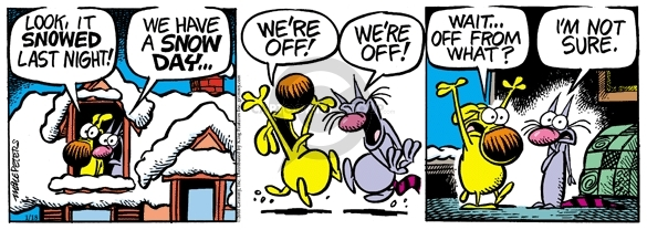 Comic Strip Mike Peters  Mother Goose and Grimm 2010-01-18 night school