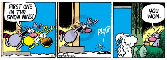 Comic Strip Mike Peters  Mother Goose and Grimm 2010-01-19 one