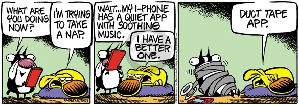 Comic Strip Mike Peters  Mother Goose and Grimm 2010-02-06 one