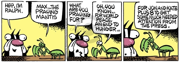 Comic Strip Mike Peters  Mother Goose and Grimm 2010-02-09 attention