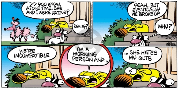 Comic Strip Mike Peters  Mother Goose and Grimm 2010-02-14 one