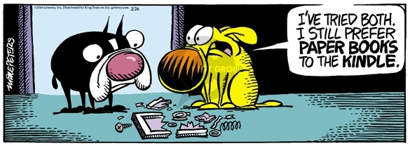 Comic Strip Mike Peters  Mother Goose and Grimm 2010-02-26 tech