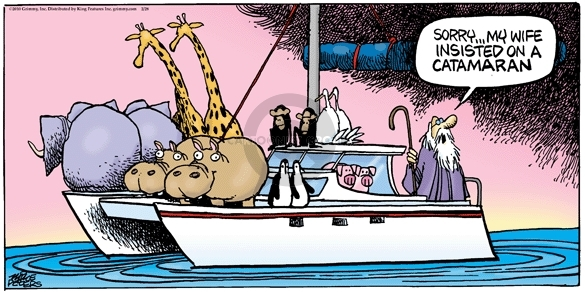 Comic Strip Mike Peters  Mother Goose and Grimm 2010-02-28 ship
