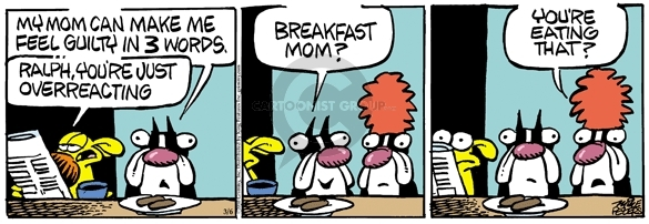 Comic Strip Mike Peters  Mother Goose and Grimm 2010-03-06 nutrition