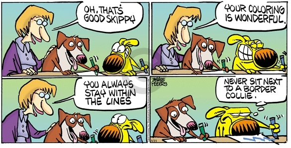 Comic Strip Mike Peters  Mother Goose and Grimm 2010-03-21 teacher
