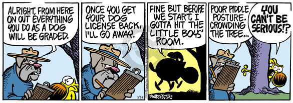 Comic Strip Mike Peters  Mother Goose and Grimm 2010-03-24 tree