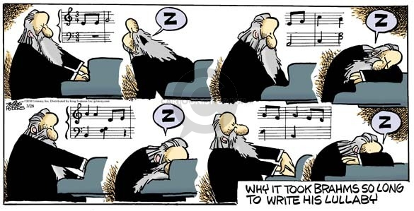 Comic Strip Mike Peters  Mother Goose and Grimm 2010-03-28 musical