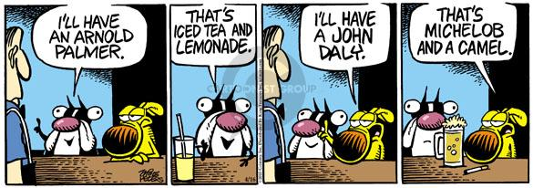 Comic Strip Mike Peters  Mother Goose and Grimm 2010-04-16 golf