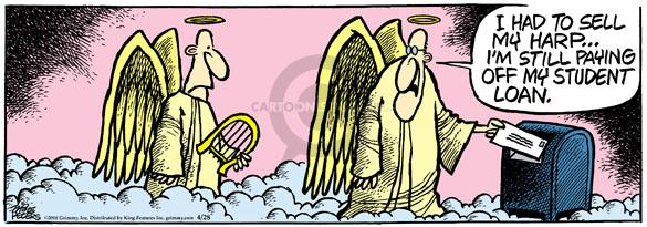 Comic Strip Mike Peters  Mother Goose and Grimm 2010-04-28 angel