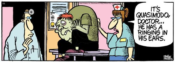 Comic Strip Mike Peters  Mother Goose and Grimm 2010-05-01 disorder